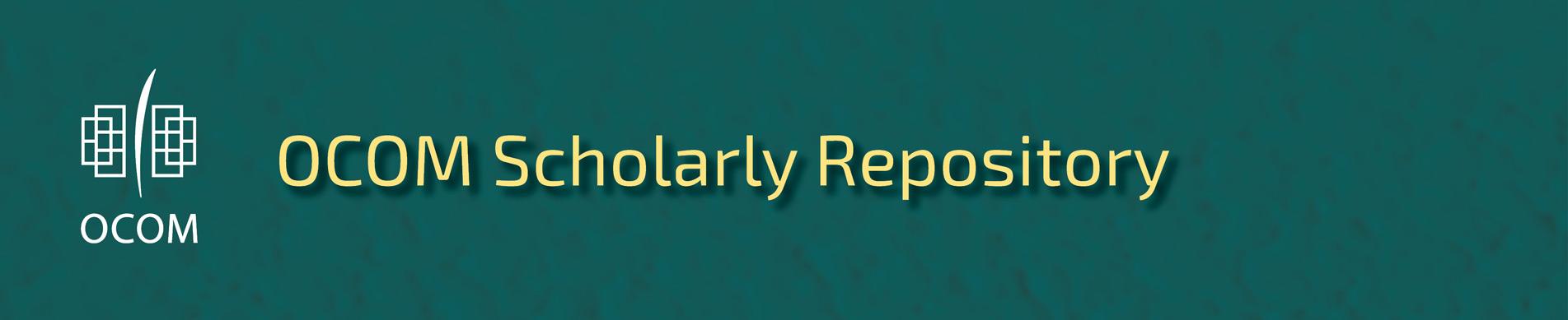 OCOM Scholarly Repository
