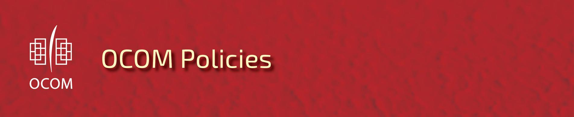 Policies & Handbooks Repository